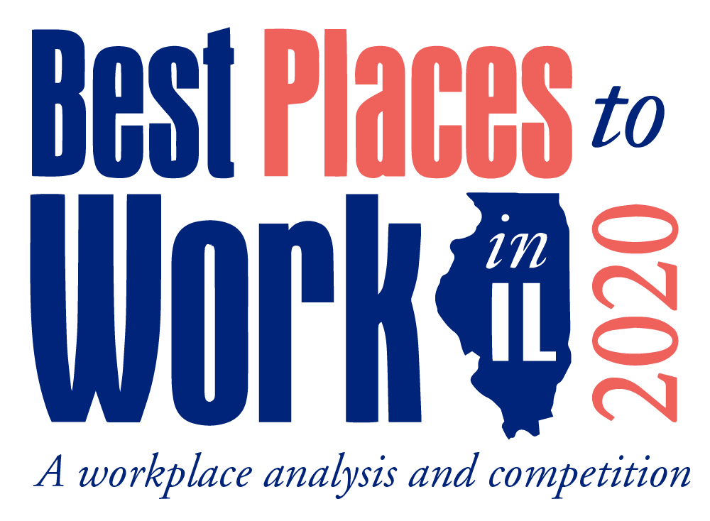 Best Places to Work in IL 2020 Logo